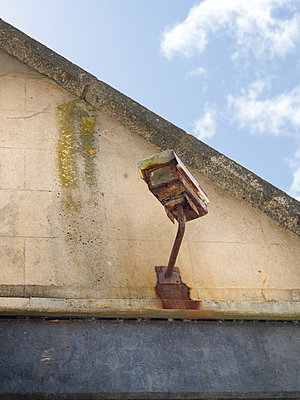 Rusting Security Camera - p1201m1041720 by Paul Abbitt