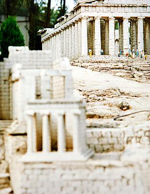 Mini Europe, open-air museum, replica, acropolis - p1299m2284487 by Boris Schmalenberger