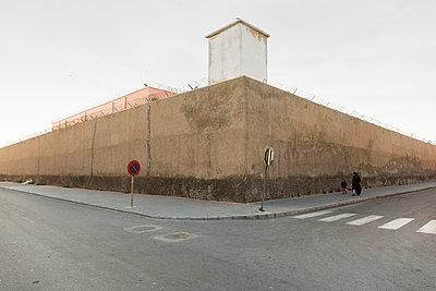 Pedestrians in Essaouira - p1177m1467452 by Philip Frowein