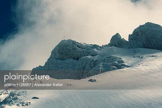 Wolkenstimmung im Karwendel - p081m1128557 von Alexander Keller