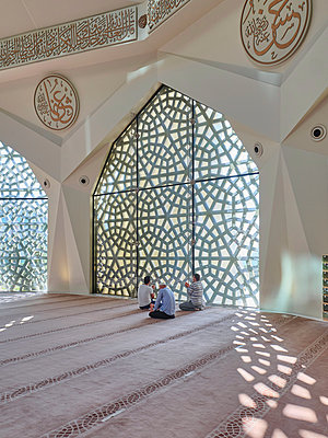 Türkei, Istanbul, Marmara-Universität, Moschee der Fakultät für Theologie - p390m2254457 von Frank Herfort