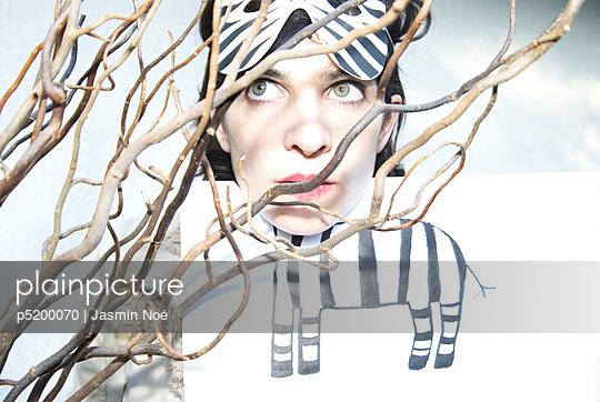 Zebra - p5200070 von Jasmin Noé