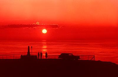 Sonnenuntergang - p1146m1108622 von Stephanie Uhlenbrock