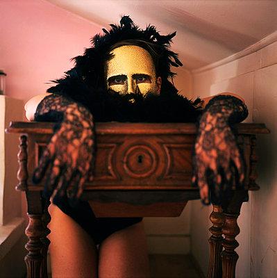 Mask - p9510005 by Caterina Sansone