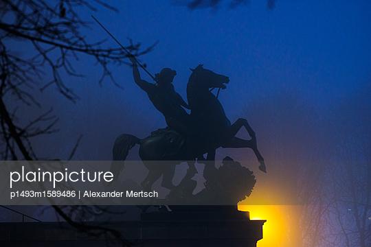 Reiterstandbild  - p1493m1589486 von Alexander Mertsch