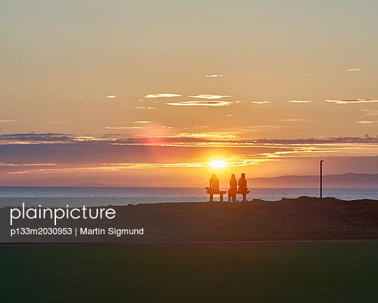 Sonnenuntergang - p133m2030953 von Martin Sigmund