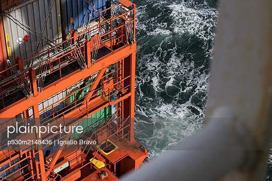 Ärmelkanal, Containerschiff - p930m2148436 von Ignatio Bravo