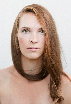 Young woman - p1136m932731 by Sabine Lewandowski