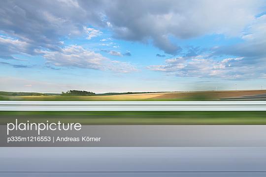 Motorway driving - p335m1216553 by Andreas Körner