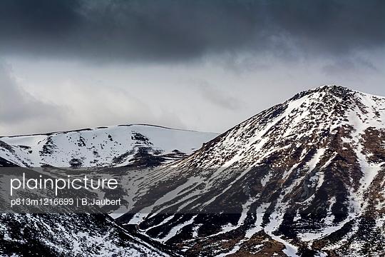 View of Massif Central Puy de Sancy  - p813m1216699 by B.Jaubert