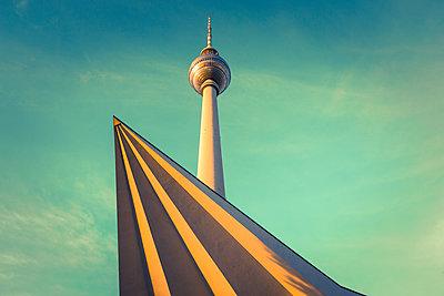 Television Tower, Berlin, Germany - p1062m1172165 by Viviana Falcomer