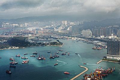 Hongkong - p1294m1513243 von Sabine Bungert