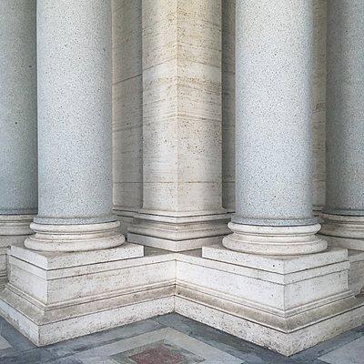 Rom, Säulen - p1401m2210261 von Jens Goldbeck