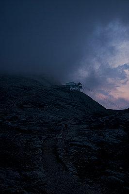 Rosetta cable car in the Pale di San Martino - p470m2128880 by Ingrid Michel