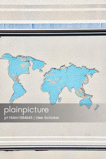 Weltkarte - p1164m1584645 von Uwe Schinkel