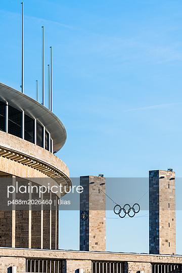 Olympiastadion - p488m2026460 von Bias