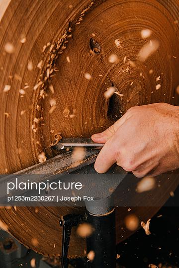 Wood working - p1253m2230267 by Joseph Fox