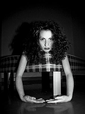 Young woman - p4130442 by Tuomas Marttila