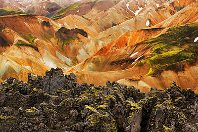 Landmannalaugar, Iceland - p1084m1036822 by GUSK