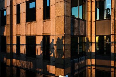 Pedestrians and facade - p945m2168998 by aurelia frey