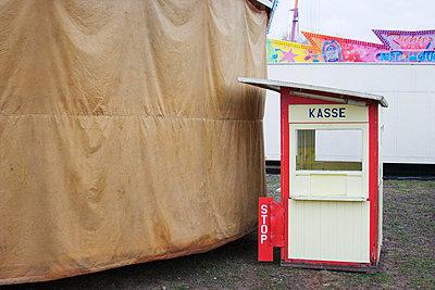 Kassenhäuschen vorm Sturm - p0890031 von Gerd Olma