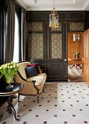 Luxury Living - Corridor I - p390m741254 by Frank Herfort