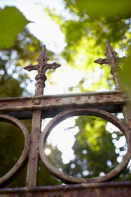 Rusty fence - p464m918831 by Elektrons 08