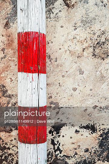 Leitplanke - p1280m1149912 von Dave Wall