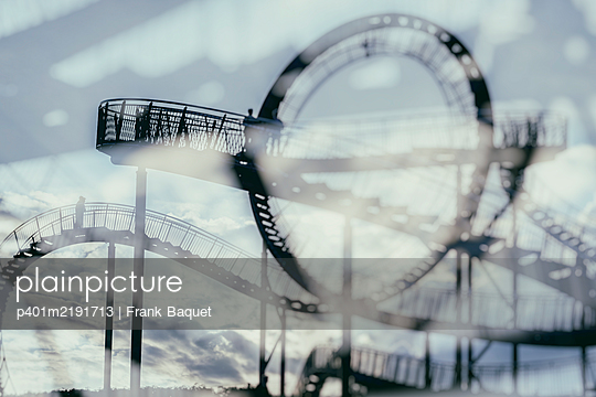 Tiger & Turtle Magic Mountain Duisburg - p401m2191713 by Frank Baquet