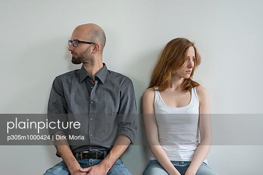 Distanziertes Paar - p305m1000424 von Dirk Morla