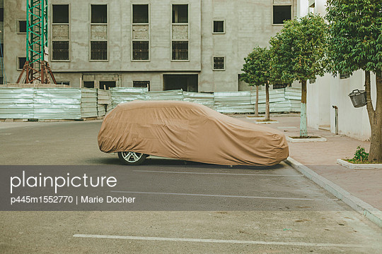 Car under protection - p445m1552770 by Marie Docher