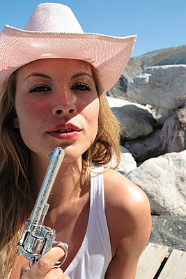 Cowgirl - p0451957 by Jasmin Sander