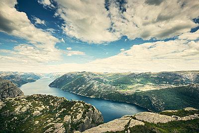 Lysefjord, Norwegen - p1200m1069679 von Carsten Görling