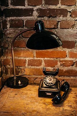 Old telephone - p1621m2248725 by Anke Doerschlen