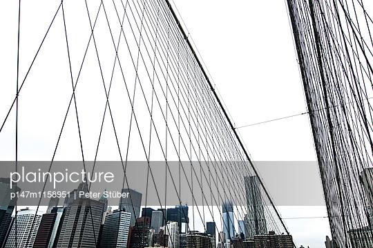 Glasfassaden in New York - p147m1158951 von Peter Stüber