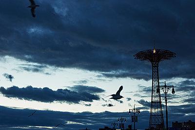 Coney Island im Winter - p579m2020769 von Yabo