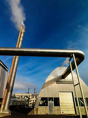 Geothermic power station Iceland. - p31221021f by Ingemar Lindewall