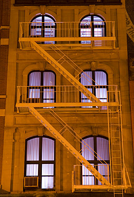 Illuminated Windows at Night - p5690219 by Jeff Spielman