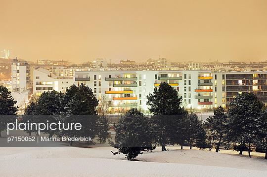 Winter in Munich - p7150052 by Marina Biederbick