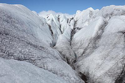 Auf dem Gletscher Myrdalsjoekull - p1314m1189953 von Dominik Reipka