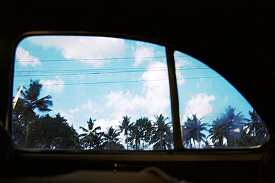 View out of a car window - p4902783 by Jan Mammey