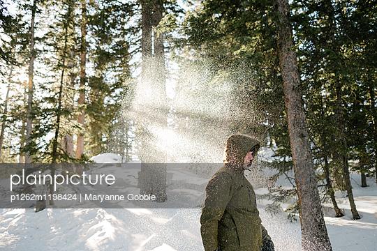 Winterspaziergang - p1262m1198424 von Maryanne Gobble