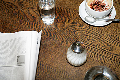 Tabletop in a cafe  - p3011893f by fStop