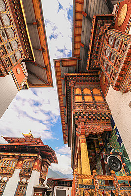 Punakha Dzong in Bhutan - p343m1218128 by Suzanne Stroeer