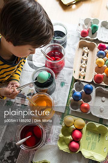 Eier färben - p305m1146292 von Dirk Morla