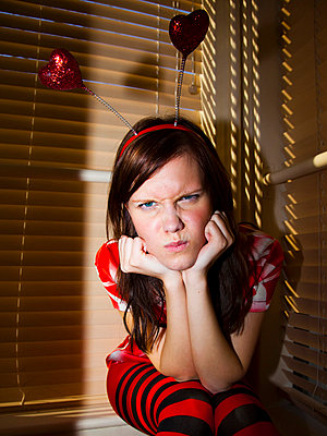 Angry girl - p4265242f by Tuomas Marttila