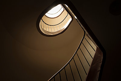 stair well - p445m1153182 by Marie Docher