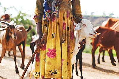 Herdswoman - p1167m970370 by Maria Schiffer