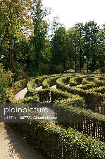 Grünes Labyrinth - p157m1109772 von Claudia Huber