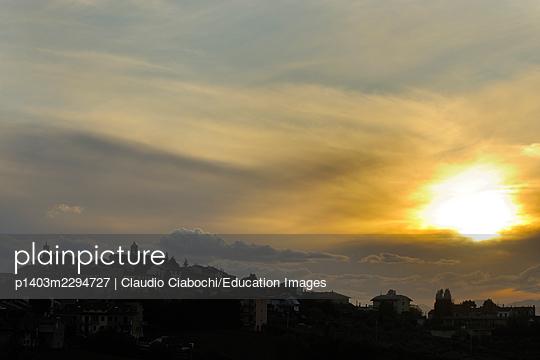 Morro D'alba. Marche. Italy - p1403m2294727 by Claudio Ciabochi/Education Images